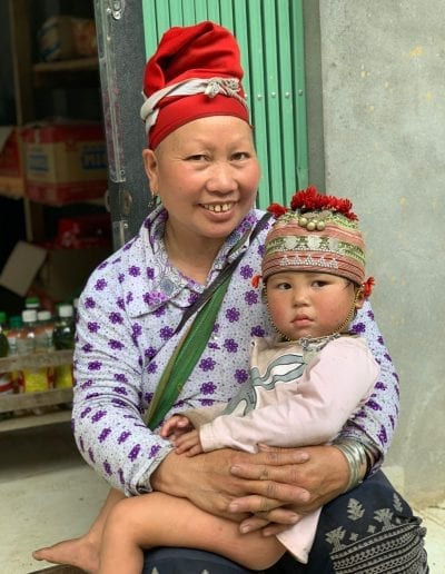 Red Dao Sapa Vietnam